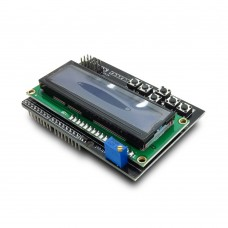 LCD 16x2 Display Shield with blue backlight
