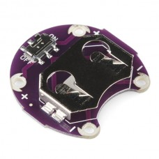 LilyPad Coin Cell Battery Holder - Switched