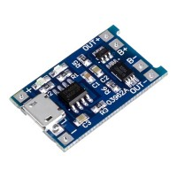 TP4056 1A Li-Ion Battery Charging Board with Current Protection