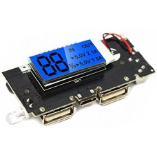 Power Bank 18650 Battery Charger Module with display