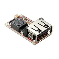 Step Down Power Charger DC – DC 6-24V Variable input to 5V USB Output Converter