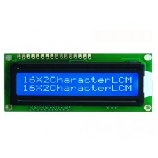LCD Display16x2 Character White Text Blue Backlight