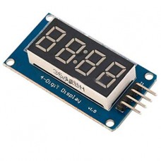 Seven 7-segment 4-digit and Clock display Module with Tm1637 for Arduino Raspberry PI