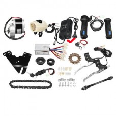 eBike Complete Full Kit with 250W Geared PMDC Motor CHARGER Included