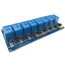 Relay Module 8 Channel 5V with Optocoupler