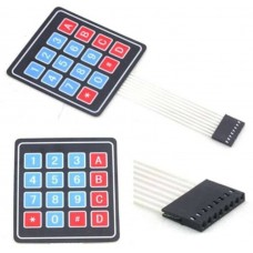 Keypad 4×4 Matrix 16-Key Membrane Switch Button for Arduino Raspberry PI