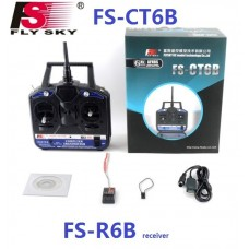 FlySky FS-CT6B 6 channel 2.4 GHz Transmitter and Receiver