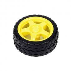 Robot Wheel for BO Motor 65x28 mm