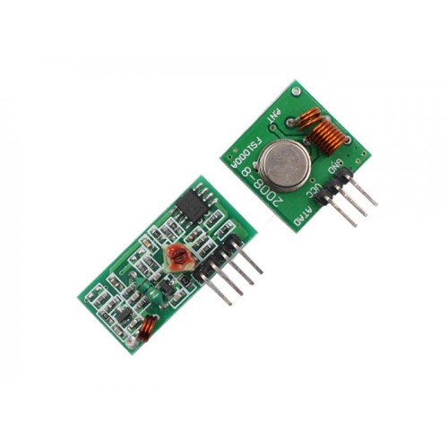 Rf Module 315 Mhz Ask Transmitter And Receiver Set